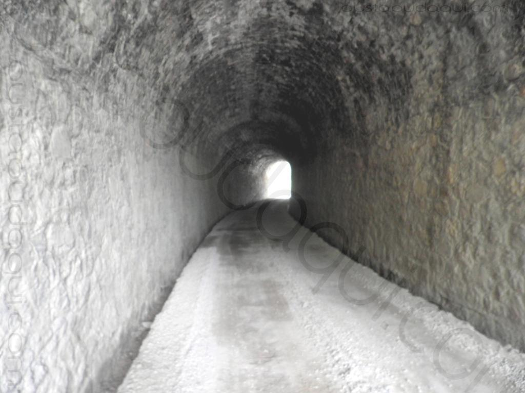 picture showing a tunnel on the EuroVelo 8